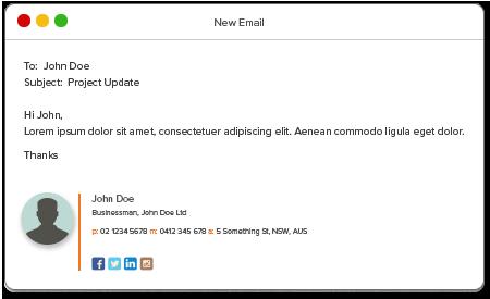 semnatura email