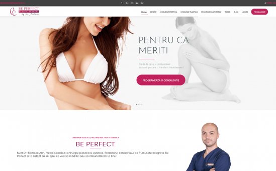 Be perfect Homepage