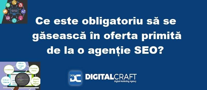Ce contine oferta SEO a Digutal Craft Agency